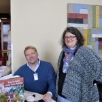 Two talented Kentucky writers—David Domine and Catherine Pond!